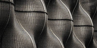 Undulating Curves Print by Lenny Carter