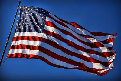 United States Of America - Usa Flag Original by Gordon Dean II