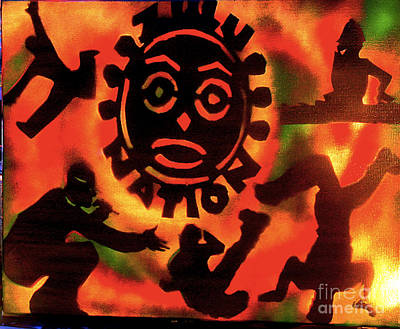 Liberal Painting - Universal Zulu Nation by Tony B Conscious