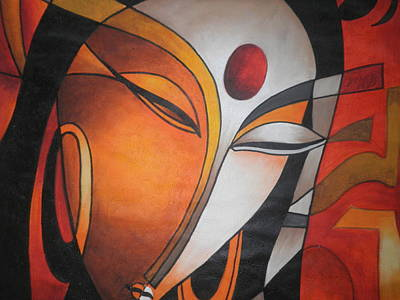 The Universe Painting - Universe by Manoj Shetty