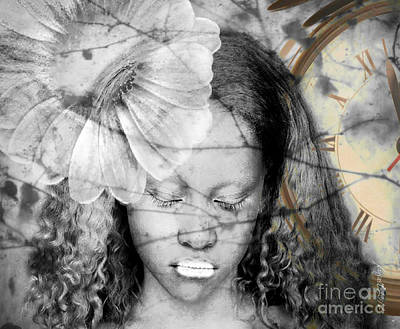 Faniart Africa America Mixed Media - Unmatched Dreams  by Fania Simon