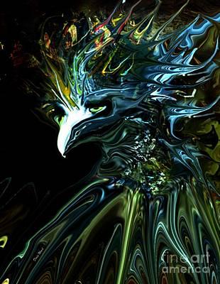 Cuckoo Digital Art - Unusual Cuckoo by Doris Wood