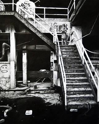 Urban Decay Print by Cynthia Garcia