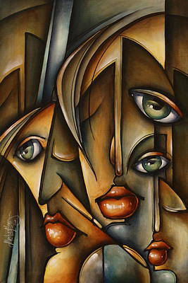 Urban Expression Print by Michael Lang