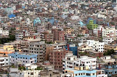 Bangladesh Photograph - Urbanization by Kibae Park