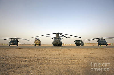 Cob Speicher Photograph - U.s. Military Vehicles And Aircraft by Terry Moore