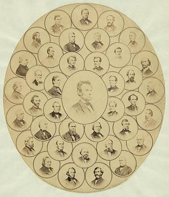 U.s. Senators Who Voted Aye On The 13th Print by Everett