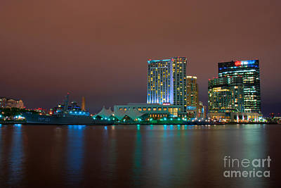 Baltimore Photograph - Uscgc Eagle And Inner Harbor East by Mark Dodd