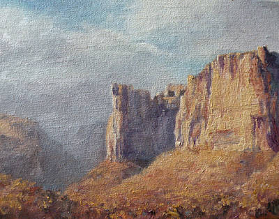 Art Of Mia Delode Painting - Utah  by Mia DeLode