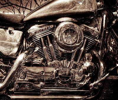 V-twin Print by Steven Arens