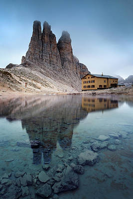 Dolomite Photograph - Vajolet Towers by Matteo Colombo