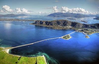 Landscape In Norway Photograph - Valderøya Island West Norway by Mariusz Kluzniak
