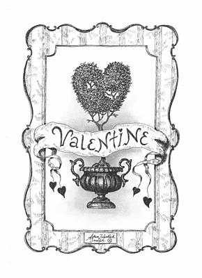 Valentine Print by Adam Zebediah Joseph