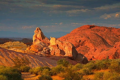 Valley Of Fire - Picturesque Desert Original by Christine Till