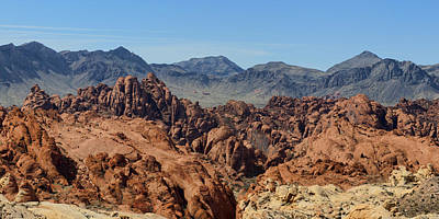 Valley Of Fire 2 Of 4 Print by Gregory Scott