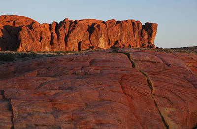 Valley Of Fire Photograph - Valley Of Fire Rockscape by Susan Rovira