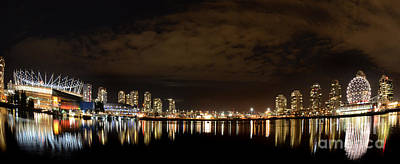 Vancouver British Columbia 4 Print by Bob Christopher