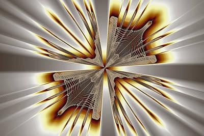 Eggleston Digital Art - Vanishing Point by Mark Eggleston