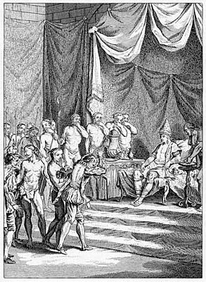 Vasco Da Gama In India Print by Cci Archives