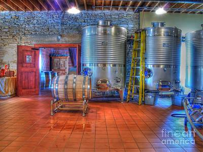 Vino Photograph - Vat To Barrel II by Jimmy Ostgard