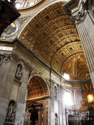 Religious Photograph - Vatican Light by Tanya  Searcy