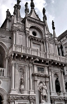 Venetian Architecture Iv Print by Ellen Heaverlo