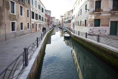 Venetian Canal - Selective Focus  Print by Tilman Winkler