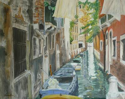 Venice Light Print by Veronica Coulston