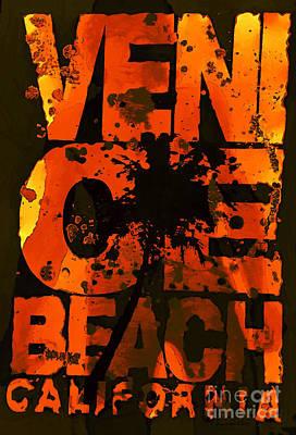 Venice Beach Mixed Media - Venice Rocks by Jerry L Barrett