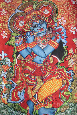 Venugopala Print by Deepa Padmanabhan