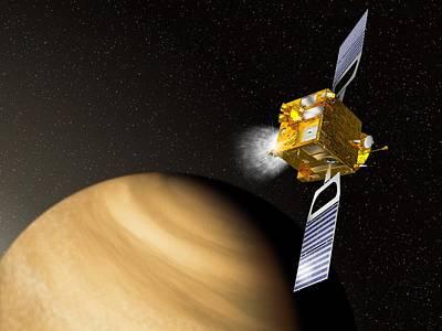 Venusian Photograph - Venus Express Mission, Artwork by David Ducros