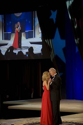Inauguration Photograph - Vice President Joe Biden And Dr. Jill by Everett