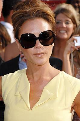 Arrivals - The 2008 Espy Awards Photograph - Victoria Beckham At Arrivals by Everett