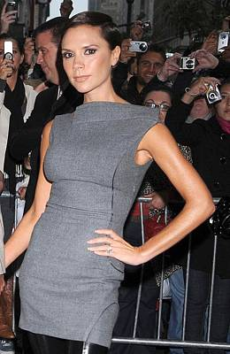 Perfume Fragrance Scent Launch Photograph - Victoria Beckham Wearing Antonio by Everett