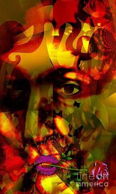Yesayah Mixed Media - Vieille Amie by Fania Simon