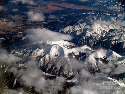 Terra Firma Photograph - View From Above IIi by Patricia Griffin Brett