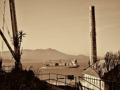 Alcatraz Photograph - View From Alcatraz by Douglas Barnard