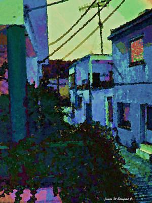 Greece Digital Art - View From Kitchen Window --41 by James Stanfield