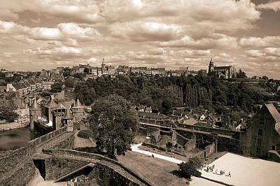 Brittany Photograph - View From The Castle by RicardMN Photography