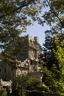 View Of Gillette Castle Print by Todd Gipstein