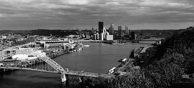 Landscape Photograph - View Of Pittsburgh by Michelle Joseph-Long