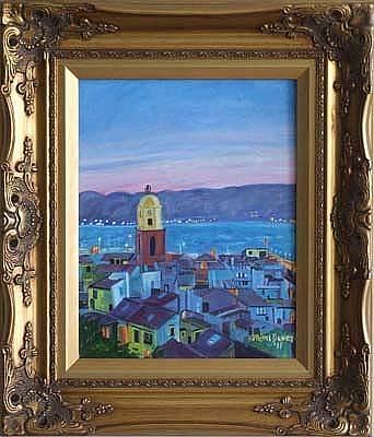 View Of St. Tropez Original by Mimi  Bauer