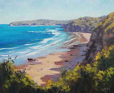 Australian Painting - View To Norah Head by Graham Gercken