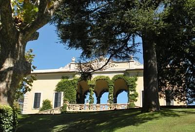 Marilyn Photograph - Villa Balbianello Lake Como by Marilyn Dunlap