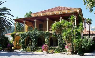 Marilyn Photograph - Villa Lafabreque Prades France by Marilyn Dunlap