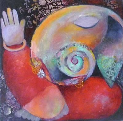 Vinayaka Painting - Vinayaka by Sangeeta Charan