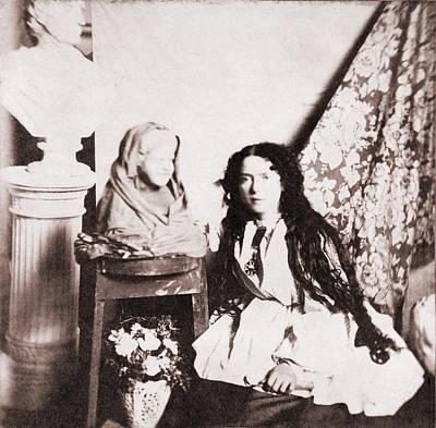 Realist Photograph - Vinnie Ream Hoxie 1847-1914, American by Everett