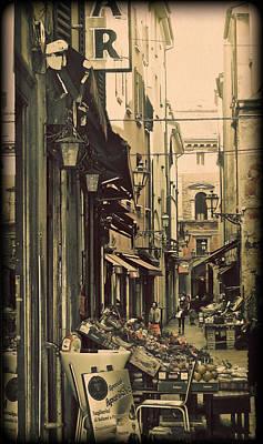 Vintage Bologna Italy Print by Maggie Vlazny