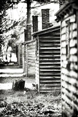 Vintage Cabins Print by John Rizzuto