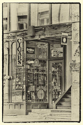 Cigars Photograph - Vintage Cigar Store II by David Patterson